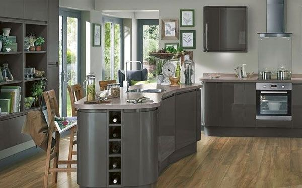 Howdens Joinery Graphite kitchen