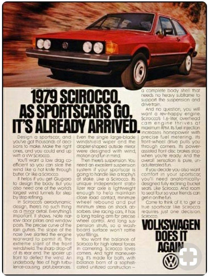 '79 Volkswagen Scirocco