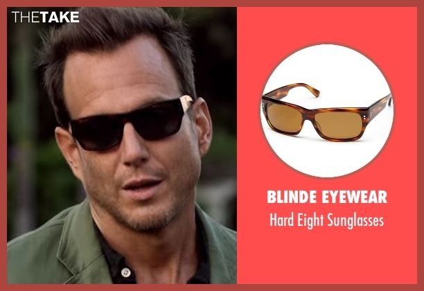 Blinde Eyewear sunglasses from Flaked seen with Chip (Will Arnett)