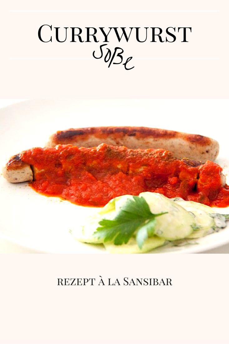 Currywurst Soße à la Sansibar - ganz leicht im Thermomix selber machen *** Homemade Currywurst Recipe Germany