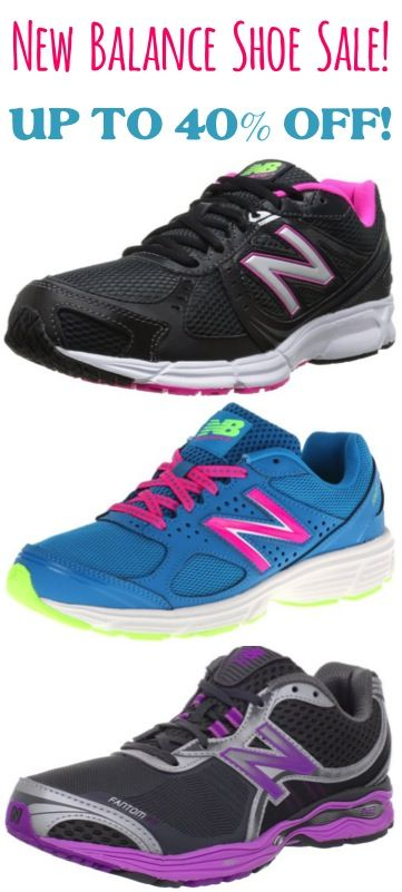 New Balance Shoe Sale!  {score a sweet deal on some cute new shoes, or a back to school bargain!}