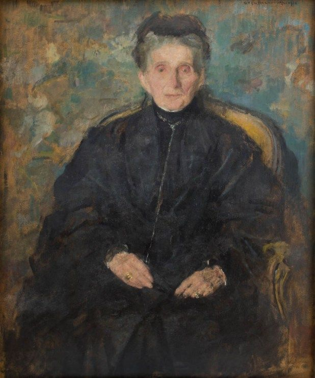 Olga Boznańska, Portret Jadwigi z Sanguszków Sapieżyny/ Partrait of Jadwiga Sapieżyna from Sanguszko family,1910, property of the National Museum in Kraków, photo: Paweł Czernicki / The National Museum in Warsaw - photo 6