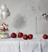 Elisa Anfuso - E temo e spero ed ardo Olio e pastelli su tela, cm 100x120, 2013