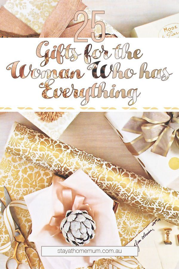 What do you buy someone who has everything? Christmas