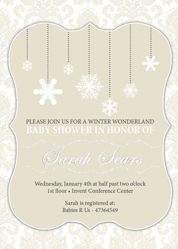 clever baby shower invitation wording%0A winter wonderland boy baby shower invitations wording