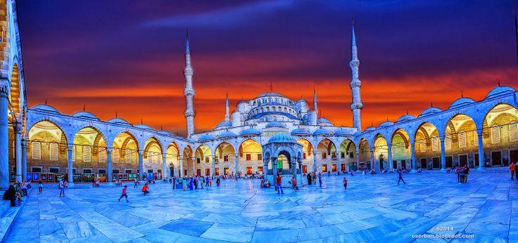 Octavian Serban: Blue Mosque...