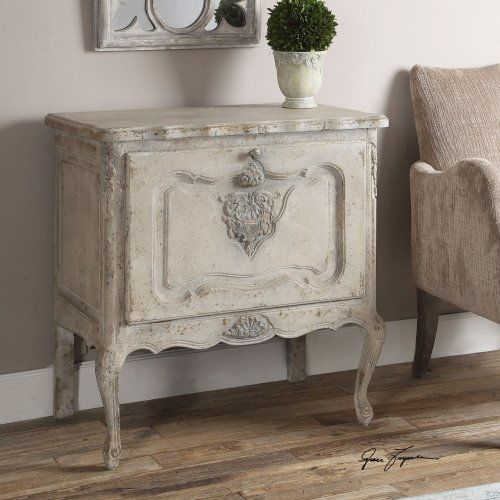 Uttermost Fausta Aged Ivory Accent Chest #Uttermost