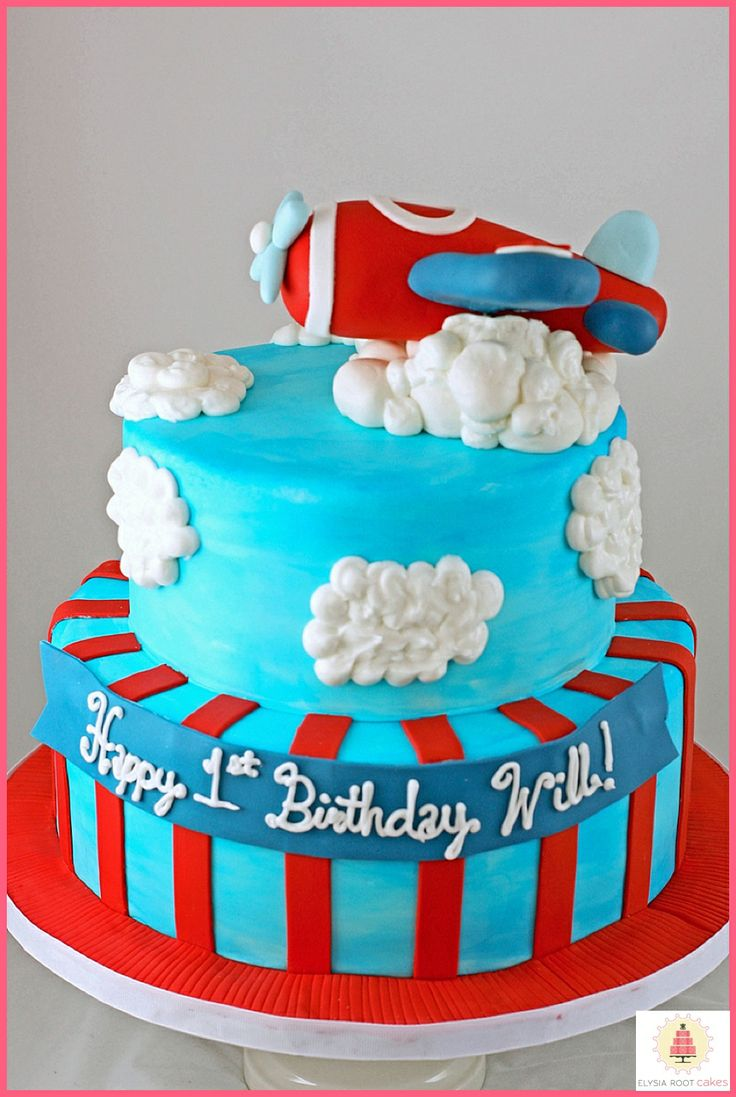 The 25 best airplane birthday cakes ideas on pinterest for Airplane cake decoration