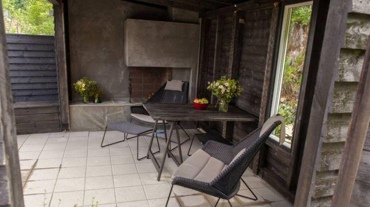 Tid for hjem: trivelig utestue.  Garden  Pinterest