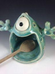 ceramic monster.