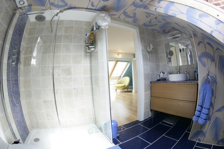 Stylish loft bathroom