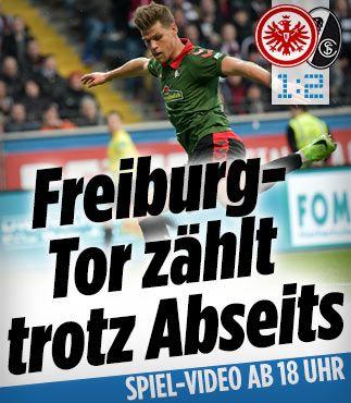Eintracht startet mit Notabwehr http://www.bild.de/bundesliga/1-liga/saison-2016-2017/eintracht-frankfurt-gegen-sc-freiburg-am-23-Spieltag-46927808.bild.html