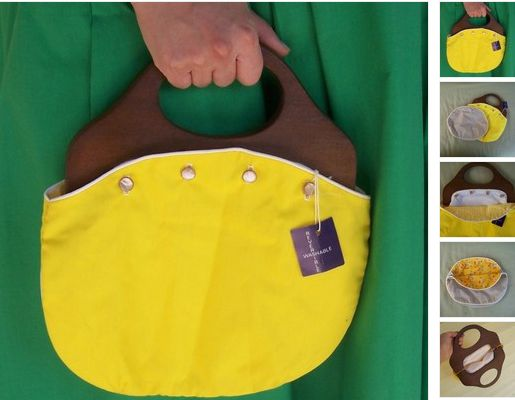 Bermuda bags!!!!!!!!!  And they were reversible...How great was that?
