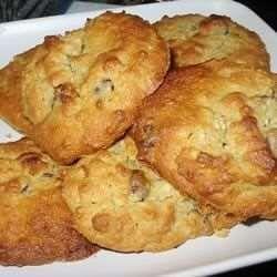 Biscuits au gruau, au beurre d'arachide et aux pépites de chocolat