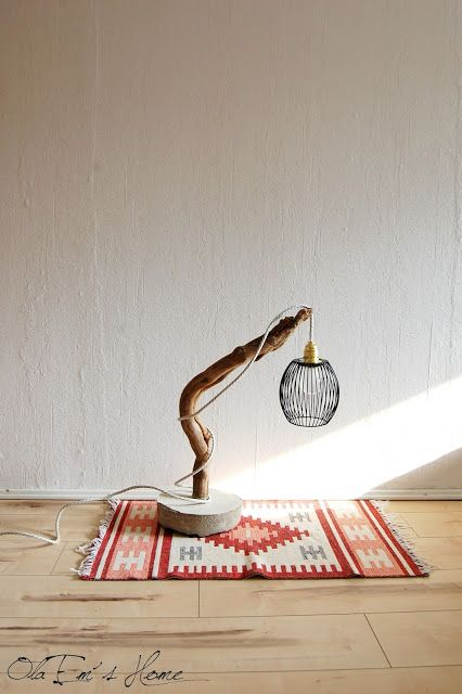 OlaEm's Home: Branch lamp