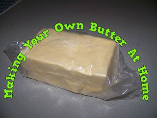 A Pretty Talent Blog: Making Your Own Butter At Home