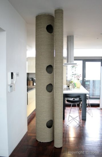 496 best images about cat trees for vertical spacing on pinterest pets cat stuff and cat. Black Bedroom Furniture Sets. Home Design Ideas