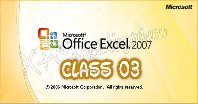 ... full course on pinterest : Microsoft Excel 2007 Beginners Tutorial Pdf