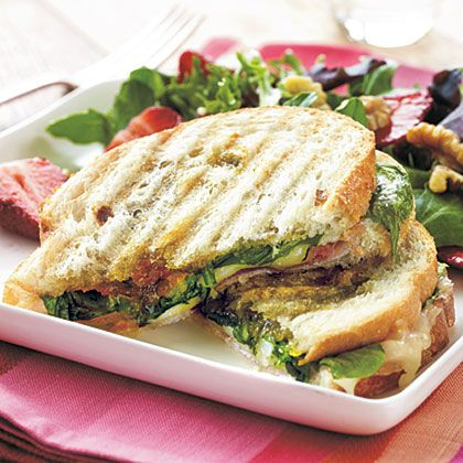 Oprah's Favorite Foods Prosciutto, Fontina, and Fig Panini