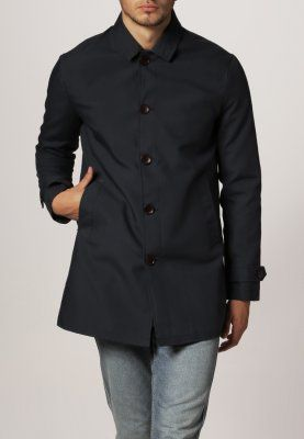 Burton Menswear London - NAVY MAC - Kort kappa / rock - blå