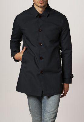 Burton Menswear London - NAVY MAC - Kort kappa / rock - blå