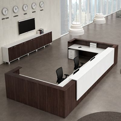 Reception Desks   Contemporary And Modern Office Furniture | Modern Office  | Pinterest | Office Reception, Receptionist Desk And Office Furniture  Design