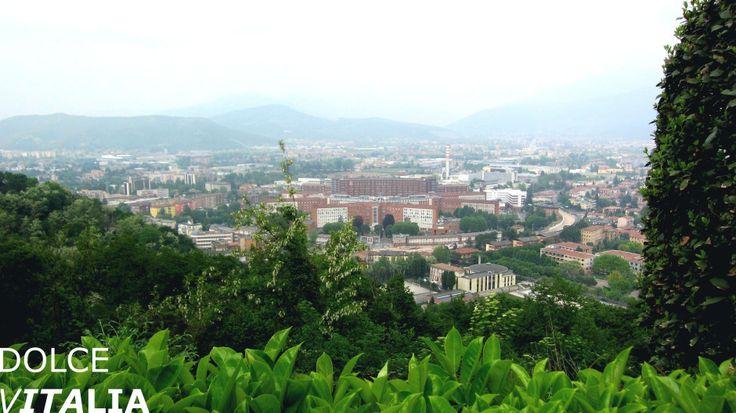 Brescia view from restaurant