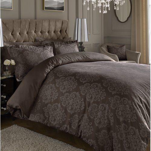Vincenza Jacquard Luxurious Duvet Cover Sets Quilt Covers Bedding Sets All Sizes