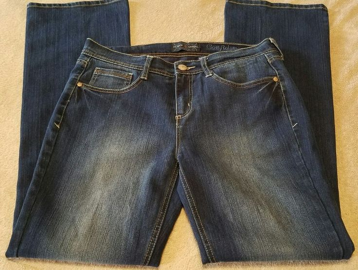 Curve Appeal Womens Jeans Sz.10 Boot Cut Shaping jeans with Back Panel Sewn In  | Clothing, Shoes & Accessories, Women's Clothing, Jeans | eBay!