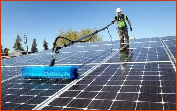 Solar Panels Maintenance Solarpanelcleaning Solarpanels Solarpanelscontrol Solarpanelsmaintenance Painel Solar Astrologia Signos Por Do Sol