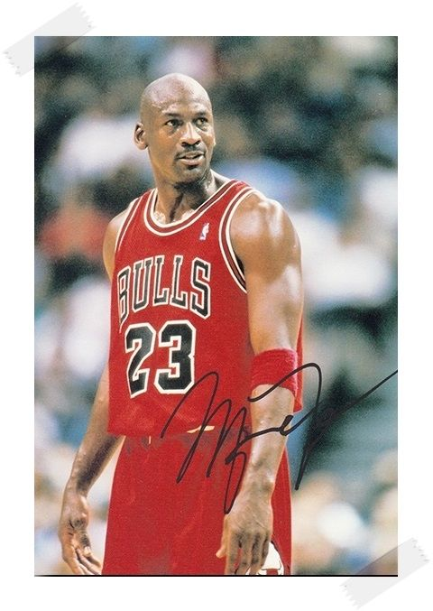29.99$  Watch now - http://ali5o3.shopchina.info/go.php?t=32688898488 - Michael Jordan autographed signed with pen photo 4*6 inches famous sports star  freeshipping 12.2017 01  #buychinaproducts