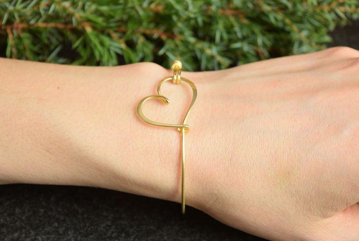 Armbänder & Armreife - Herz Armband Hochzeit, Brautjungfer, Trauzeugin  - ein Designerstück von AtelierWhiteMouse bei DaWanda