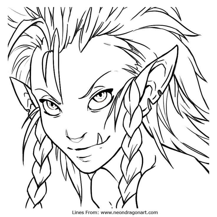 64 best images about Elves coloring on Pinterest ...
