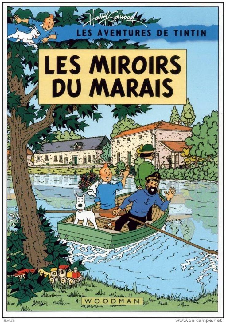 Les miroirs du marais