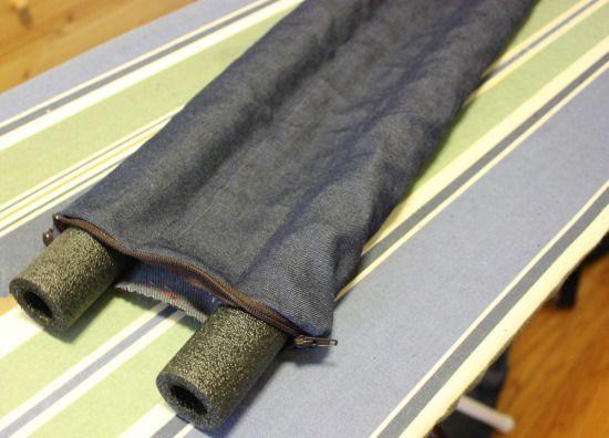 DIY: Door DraftGuard - Blog - Wicked Mint