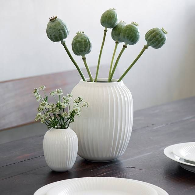 """Jetzt die Vase """"Hammershoi"""" Weiß von Kähler Design im Online-Shop entdecken und bestellen!"""