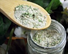 Italian Dressing Seasoning Dry Mix. Another mix to keep on hand and most of the herbs are growing in my garden.
