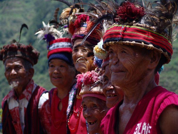 Ifugao tribe at Bananue, Philippines