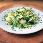 Een heerlijk recept: Jamie Oliver: aardappelsalade met avocado en tuinkers