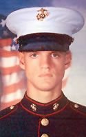 Marine Cpl. Jason L. Dunham  Died April 22, 2004 Serving During Operation Iraqi Freedom  22, of Scio, N.Y.; assigned to 3rd Battalion, 7th Marine Regiment, 1st Marine Division, I Marine Expeditionary Force, at Twentynine Palms, Calif.; died April 22 at Bethesda Naval Hospital in Bethesda, Md., of injuries sustained April 14 when he used his body to shield comrades from a grenade explosion in Husaybah, Iraq. He was awarded the CONGRESSIONAL MEDAL OF HONOR.