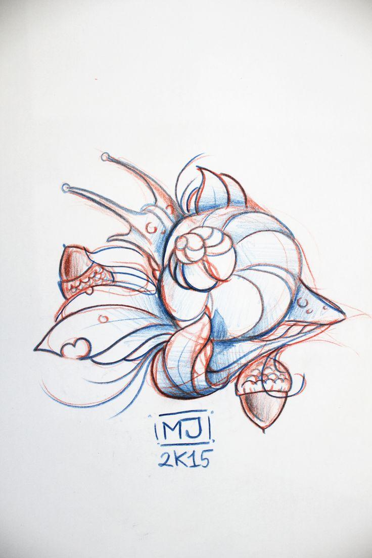 #lumaca #snail #tattoo #tattooartist #colortattoo #mrjack #mrjacktattoo #mrjacktattooartist #tatuaggio #bodyart #arte