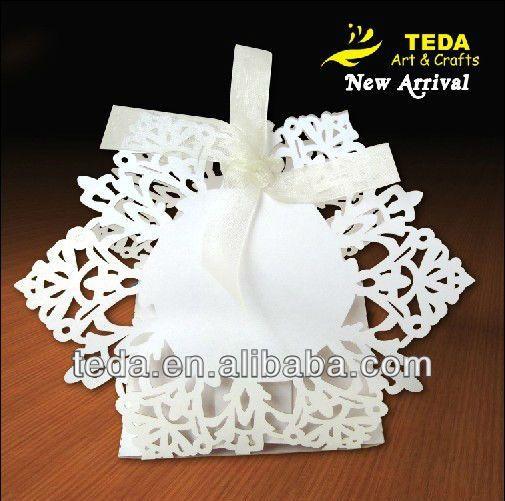 Рождественская вечеринка декоративный снежинка коробка конфет
