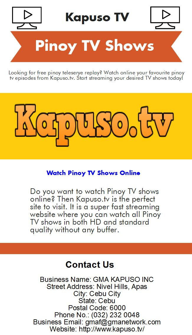 Pinoy TV Episodes Online - Infogram, charts & infographics