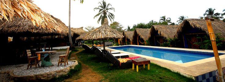 Tikihut Hostel in Palomino, Guajira