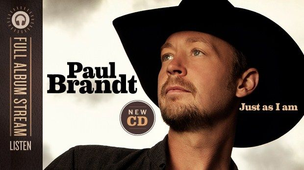 LISTEN: Paul Brandt's Just As I Amnot today .i ll be listening to paul brandt new cd JUST AS I IM ,ammazing star hes going to haidi to rebuild homes hes love he shares with orfans all over places in world ,like cambodia he was there , he was in heidi just as i m TOUR is going to heidi isent thtat amaing how much they care for families down there