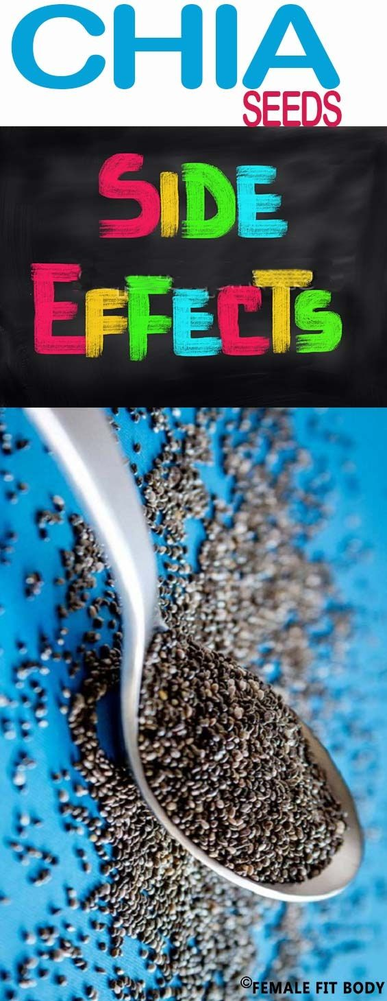 5 Chia Seeds Side Effects That You Should Know