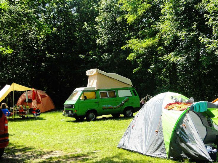 The camping field at Natur-Camping Vulkaneifel, Manderscheid, Bernkastel-Wittlich - Pitchup.com