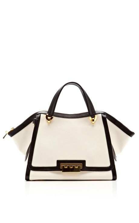 Eartha Soft Double Handle by Zac Posen Spring-Summer 2014 (=)