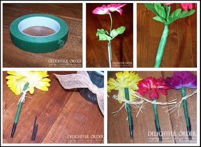 Teacher Flower Pens 2