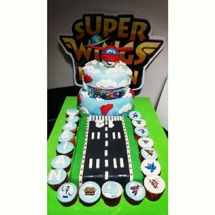 Torta De Super Wings Torta De Cumplea Os Pinterest Wings